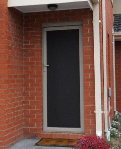 Security Flyscreen Door. Image Number 99 Of Wire Doors Melbourne . & Flyscreen Door \u0026 Garage Screen Doors Perth Pezcame.Com